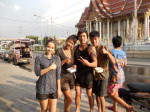 Water festival Songkran, Pictures of Songkran in Thailand