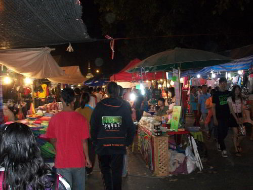Chinese new year carnival in Phitsanulok