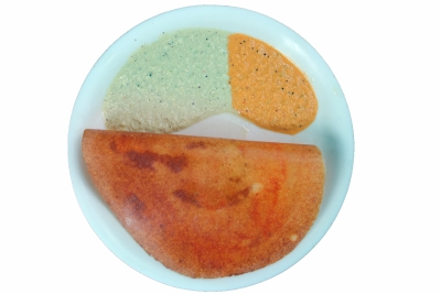 Indian food in Thailand - Dosa- south Indian savory crepe