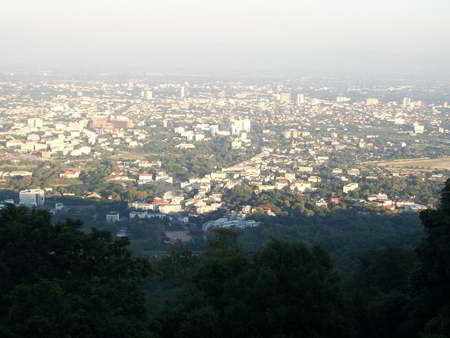 Chiangmai photo -view from Doi suthep