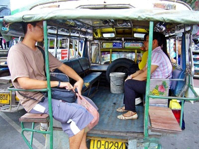 Songthaew the red taxi in chiangmai