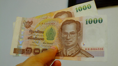 low cost money transfers - sending Thaibahts abroad