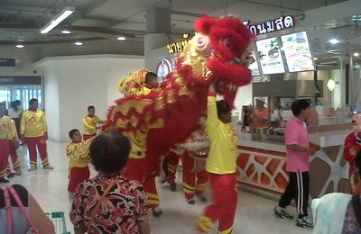 Chinese new year celebrated in Thailand