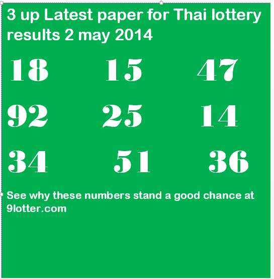 latest lottery