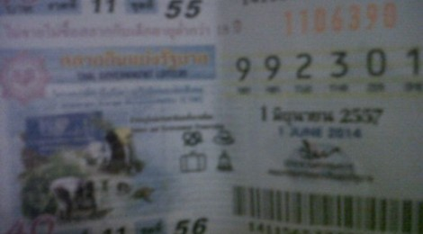Thai lottery results 16 June 2014 tip