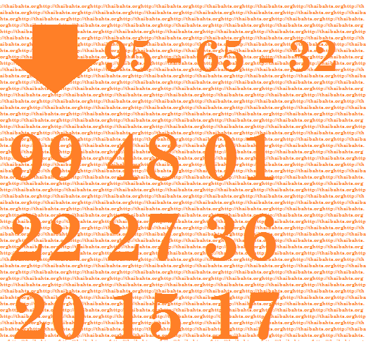 Thai lottery results down number tip 1-2-2015