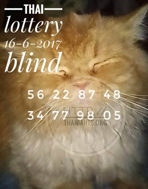thai lottery tip paper 16-6-2017